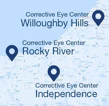 Corrective Eye Center Locations - Rocky River, Independence, Willoughby Hills